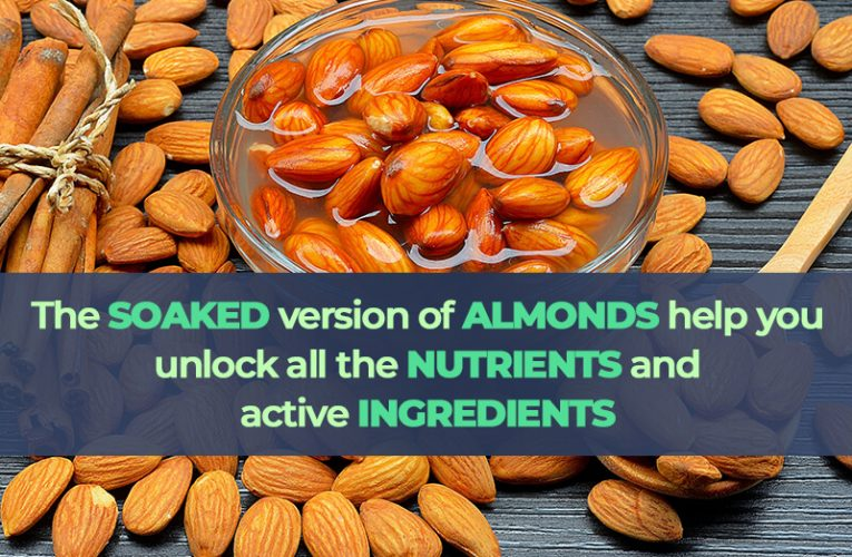 5 Proven Health Benefits Of SOAKED ALMONDS