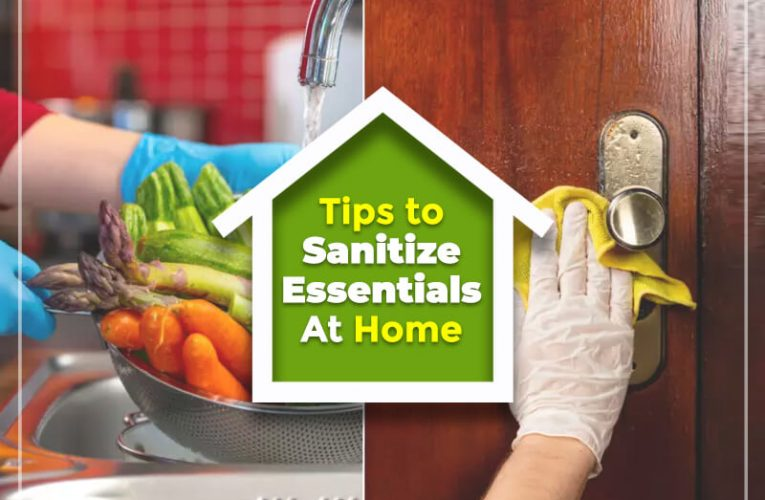 This Is How We Should Sanitize Essential Items At Home