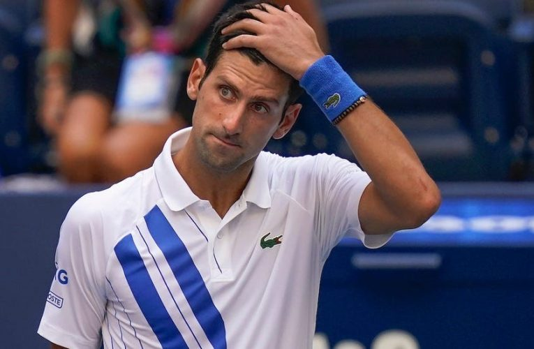 Novak Djokovic 'defaulted' from the US open: Fined for injuring field umpire