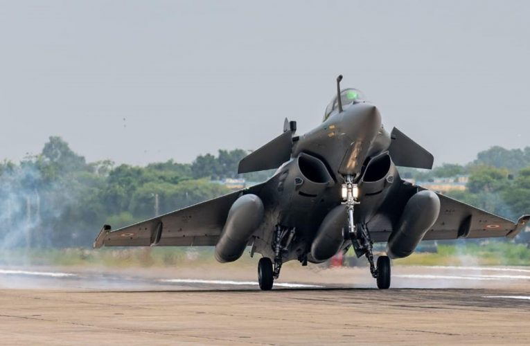 Rafale fighter jets to get inducted in the IAF officially: French defence minister to attend the Ceremony at Ambala air base.