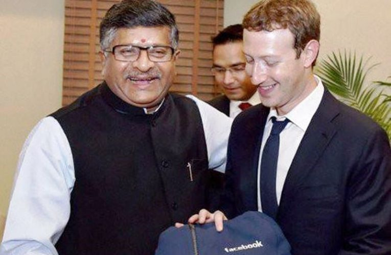 Union minister writes to Facebook: Claims explanation on the forming of Nation based guidelines