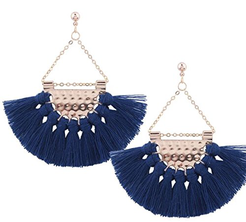 6 ELEGANT TASSEL EARRINGS TO GRACE YOU!!