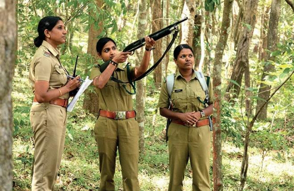 The female forest rangers of Coimbatore