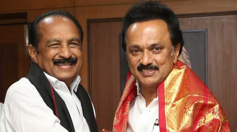MDMK agrees to fight along DMK using the 'Rising sun' symbol for the assembly elections