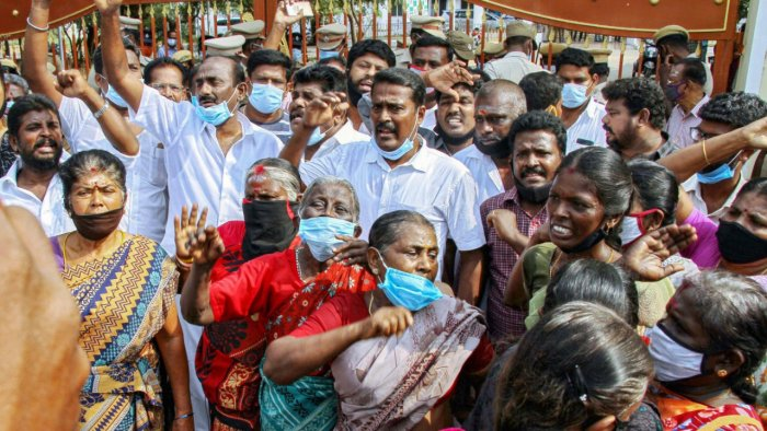 Tamil Nadu surges against the opinion meet of reopening the Vedanta plants in Tuticorin to produce oxygen.