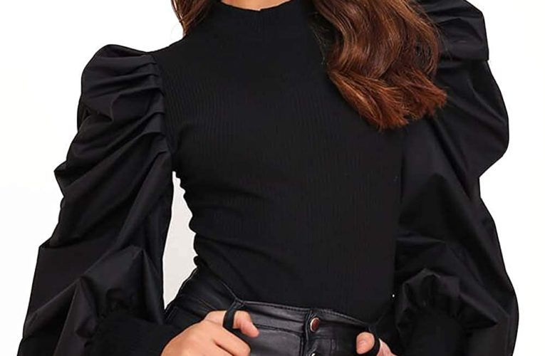 BEST 5 TRENDY WESTERN TOPS WITH PUFF SLEEVES