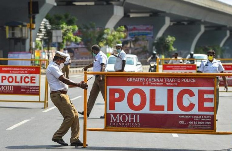 Total Lockdown in Tamil Nadu! Basic essential shops will continue to function till 12 noon