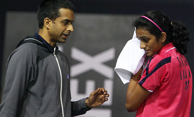 Indian badminton player PV Sindhu finds it mindful with the new coach.