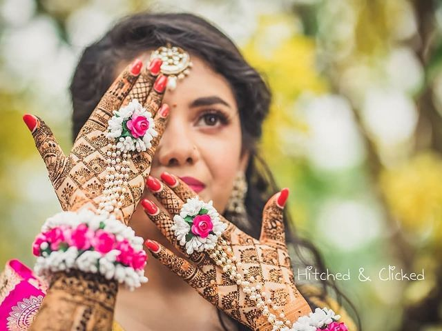 TOP 6 FLORAL JEWELLERY TO DOLL UP  HALDI AND BABY SHOWER OUTFITS !!